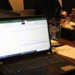 مناقشة اجتماع مكتب رفيف للأستشارات الإدارية1